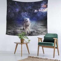 Space Astronaut Galaxy Wall Art College Apartment Unique Dorm Room Decor Trendy Wall Tapestry