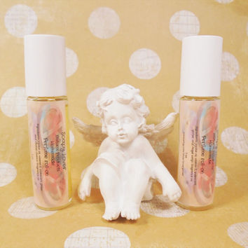 Perfume roll-on, perfume oil, perfume, sensitive skin perfume, gift for her, mother's day gift, fragrance oil, jojoba perfume, natural