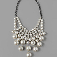 HILLSBOROUGH PEARL STATEMENT NECKLACE