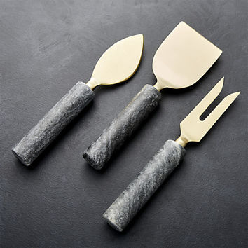 Hayes Marble Cheese Tools, Set of 3