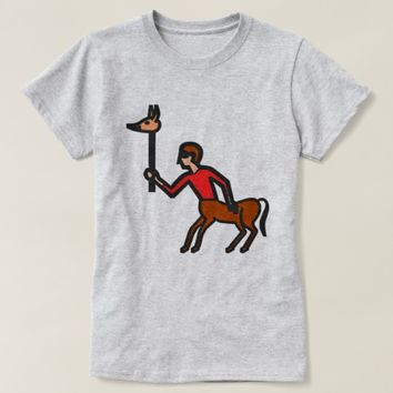 Centaur with a pig head on a stick T-Shirt