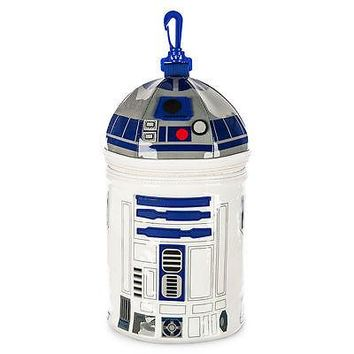 Licensed cool Star Wars r2-d2 R2D2 droid robot Lunch Bag Tote Box 11x6 Disney Store NEW 2015