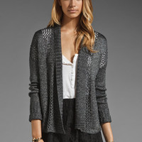 Jack by BB Dakota Ryan Metallic Sweater in Dark Heather Grey from REVOLVEclothing.com