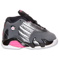 Girls' Toddler Air Jordan Retro 14 Basketball Shoes