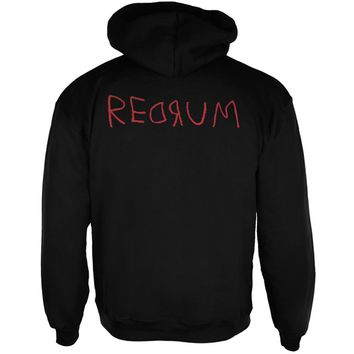 Halloween Horror Redrum Mens Full Zip Hoodie