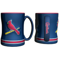 St. Louis Cardinals MLB Coffee Mug - 15oz Sculpted (Single Mug)