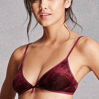 Honey Punch Corduroy Bralette