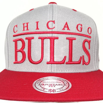 Chicago Bulls 2016 Mitchell & Ness Snapback Cap Hat