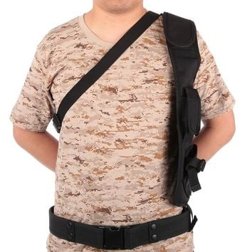 Outdoor Multinational Tactical Backpack for Hunting Phone Pouch Underarm Shoulder Armpit Bag with Security Holster Strap BG-1718