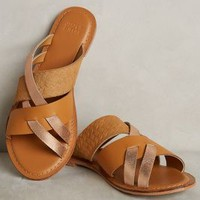 Jasper & Jeera Cosme Slides in Honey Size: