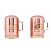 Old Dutch Decor Copper Hammered Stovetop Salt and Pepper Set | Overstock.com Shopping - The Best Deals on Counter Accessories