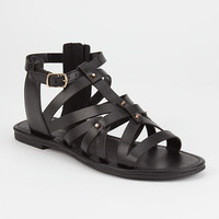 CITY CLASSIFIED Strappy Stud Womens Gladiator Sandals | Sandals