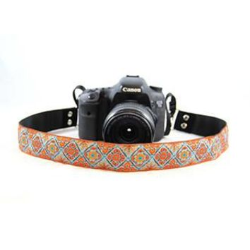 Summer Bliss 1.5In Camera Strap - Capturing Couture - CASLR15-SMBL