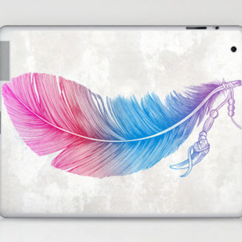 Colors of a Feather Laptop & iPad Skin by Rachel Caldwell | Society6