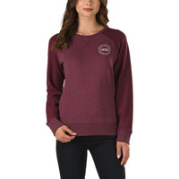 Round House Crew Sweatshirt | Shop Womens Sweatshirts at Vans