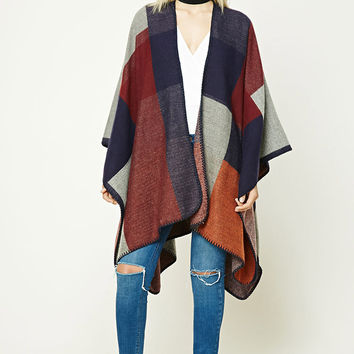 Contemporary Colorblock Shawl