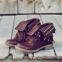 Sweet Studded Motorcycle Boots