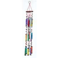 Glass Rainbow Windchime
