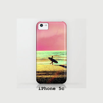 Cell Phone Cover, Catch the Early Wave, Sand, Beach, Ocean, iPhone, Samsung, Salt Life, Ocean, Pink, Green, Yellow, Cell Phone, Mobile, Surf