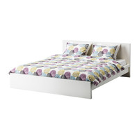 MALM Bed frame - white, Queen  - IKEA