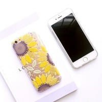 Fresh daisies phone case for iphone 6 6s 6 plus 6s plus + Nice gift box 080902