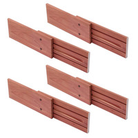 Cedar Drawer Dividers                     - Set of 4