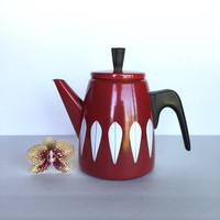 Cathrineholm True Red Lotus Coffee Pot
