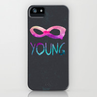 Forever Young II iPhone & iPod Case by Jacqueline Maldonado