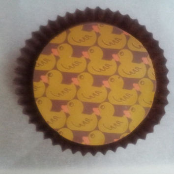 Rubber Ducky Chocolate Covered Oreo Baby Shower Favor, Birthday Favor, Rubber Duck Favor