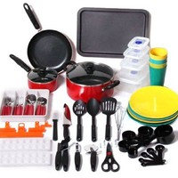 Peak Outdoors 67-Piece Camping Cookware Set