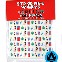 Bad Girls Club Nail Decals