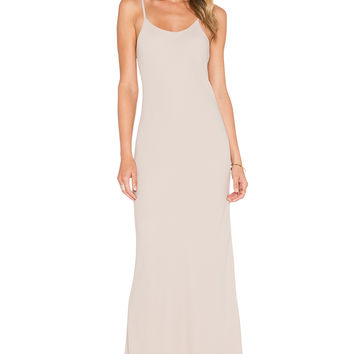 Helena Quinn Celine Slip Dress in Champagne
