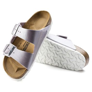 Sale Birkenstock Arizona Birko Flor Graceful Orchid 1006373 Sandals
