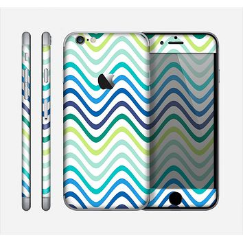 The Vibrant Fun Colored Pattern Swirls Skin for the Apple iPhone 6