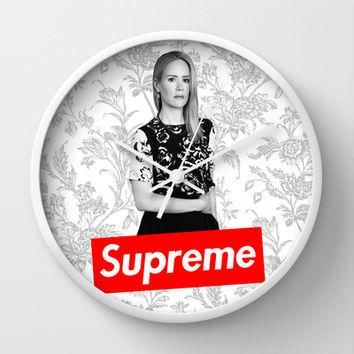 American Horror Story: The New Supreme Wall Clock by dan ron eli