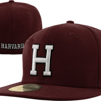 Harvard Crimson New Era 59FIFTY Basic Fitted Hat