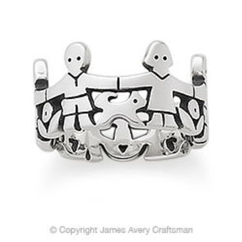 Paper Doll Band from James Avery