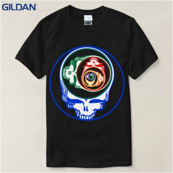 T Shirt Anime Steal Your Face New Jersey Grateful Devils Dead T Shirt High Quality Casual Clothing