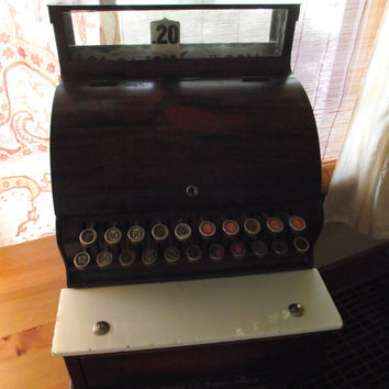 Cash Register Vintage NCR Antique Candy Store Penny