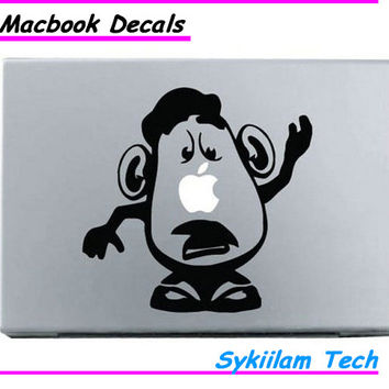 Mr Potato Head Man Toy Story Sticker for Apple Macbook Skin Air 11 13 Pro 13 15 17 Retina Laptop Auto Wall Vinyl Logo Decal