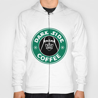 Dark Side Coffee Hoody by Maurece