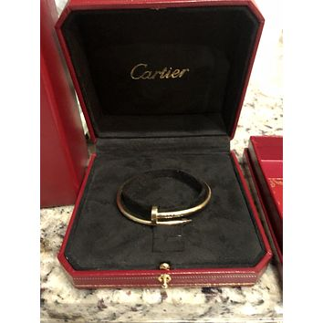 Cartier 18k Bracelet Nail Yellow Gold Pre-owned