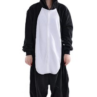 DAYAN Pajamas Anime Costume Adult Animal Onesuit Black Penguin Cosplay Size M