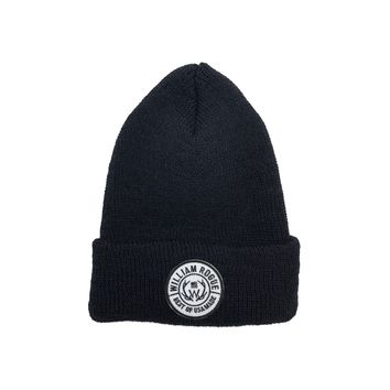 Black Primer Patch Watch Cap