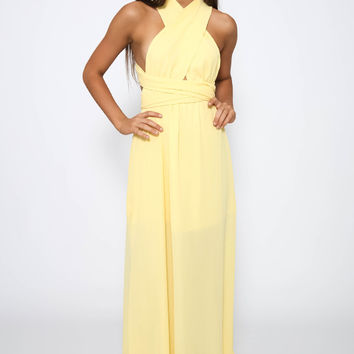 Nellie Dress - Yellow