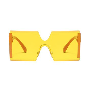 Born 2 Ball Seamless Sunglasses | Yellow