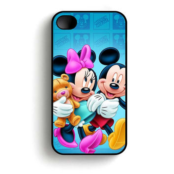 Mickey And Minnie Mouse  iPhone 4 and iPhone 4s case