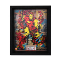 Holographic Invincible Iron Man Shadowbox