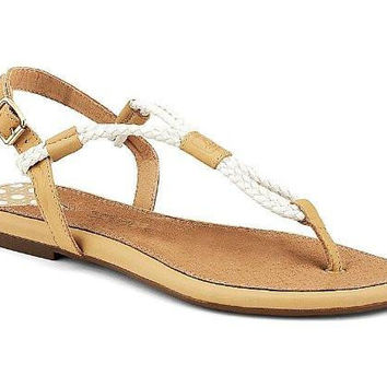 Sperry Top-Sider Women's Lacie Sandal, Sand / Ivory