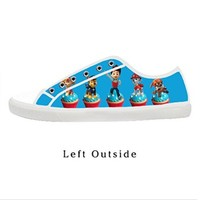 Custom Cartoon TV Paw Patrol Women's Canvas Shoes Fashion Shoes for Women